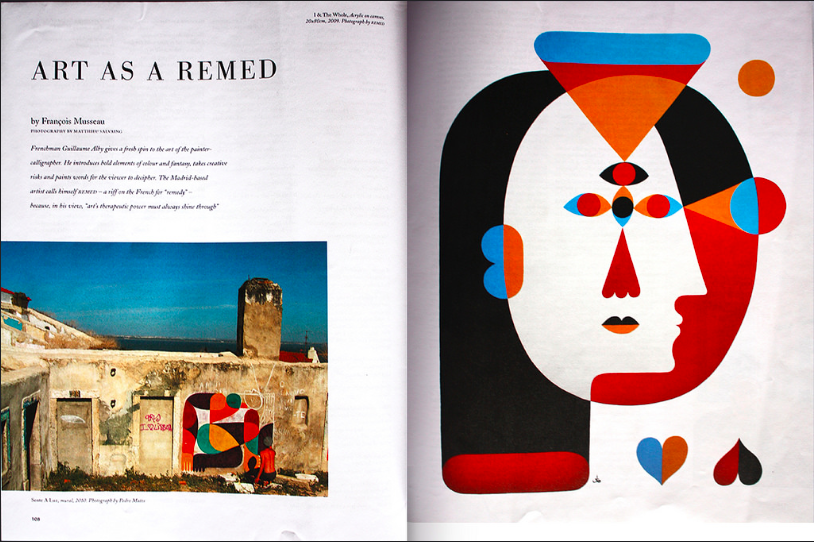 HOLIDAY MAGAZINE #69. Remed's interview