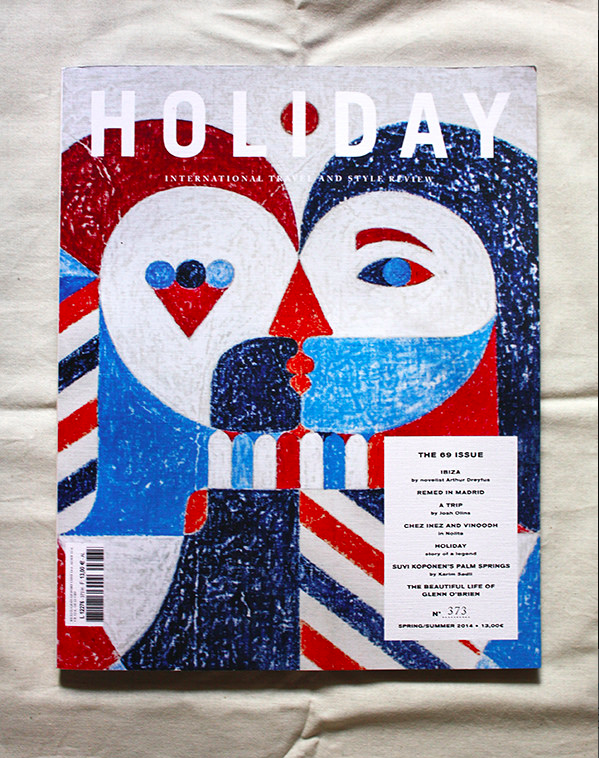 HOLIDAY MAGAZINE. Cover & Interview. n*69.