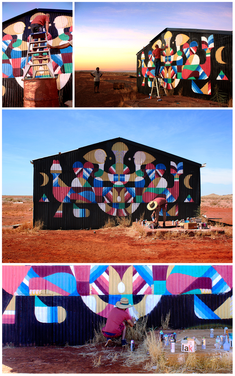 MANI GURI MINGALA. Work in progress. PILBARA. Australia.